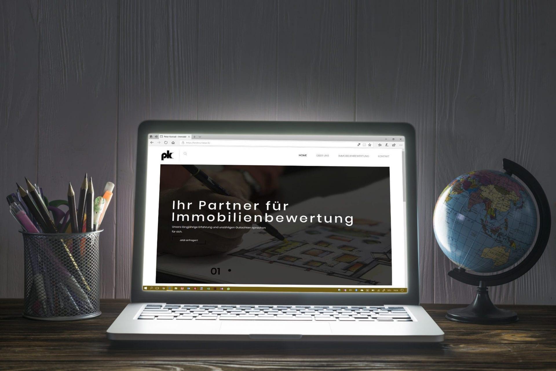 Peter Konrad Landesschätzer Webseite
